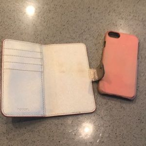 Fossil Accessories - IPhone 7 Kitty Wallet Case